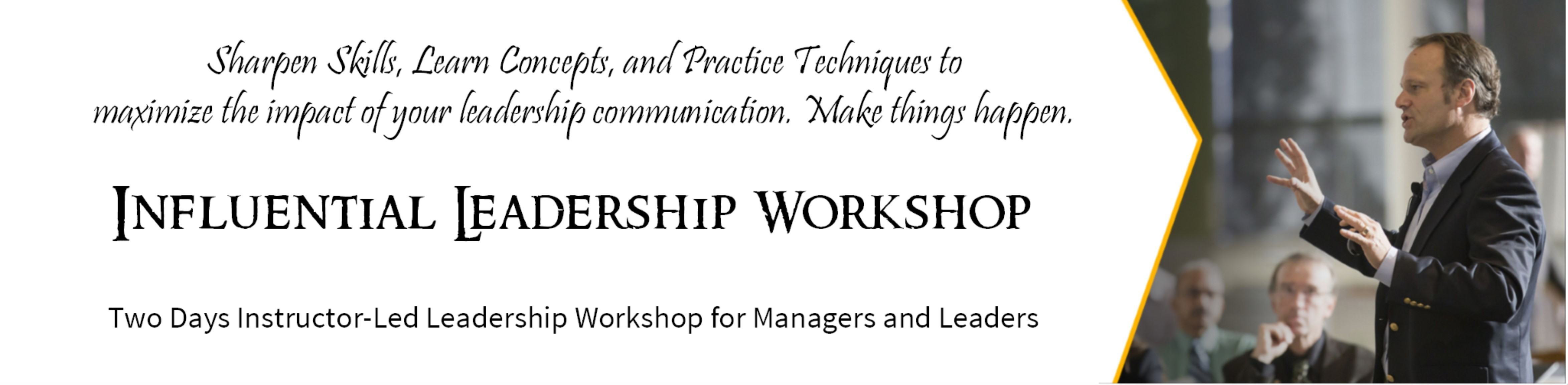 Influential Leadership Workshop